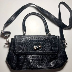 Vintage Etienne Aigner Croc Leather Purse
